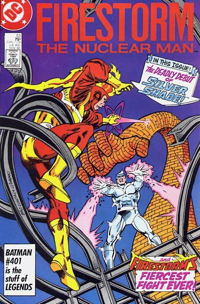Cover for The Fury of Firestorm (DC, 1982 series) #53 [Direct]