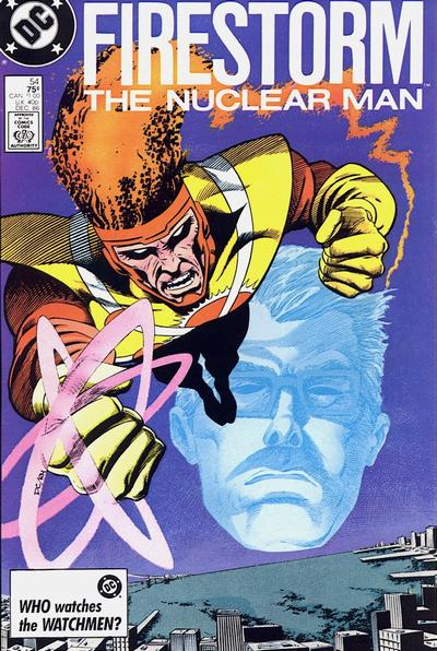 Cover for The Fury of Firestorm (DC, 1982 series) #54 [Direct Sales]
