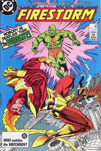 Cover for The Fury of Firestorm (DC, 1982 series) #58 [Direct Sales]