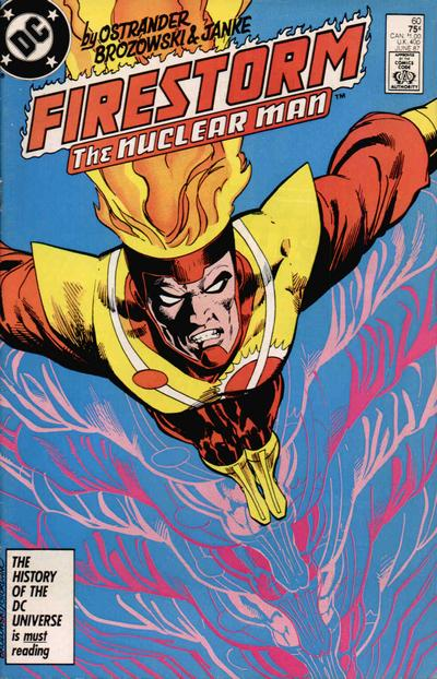 Cover for The Fury of Firestorm (DC, 1982 series) #60 [Direct]