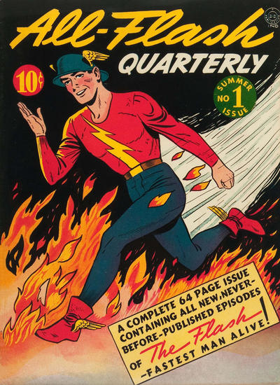 Cover for All-Flash (DC, 1941 series) #1