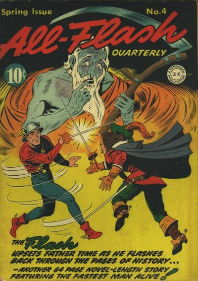 Cover for All-Flash (DC, 1941 series) #4
