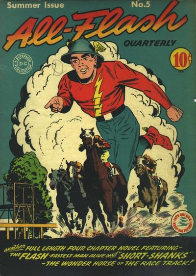 Cover for All-Flash (DC, 1941 series) #5