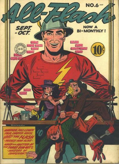 Cover for All-Flash (DC, 1941 series) #6