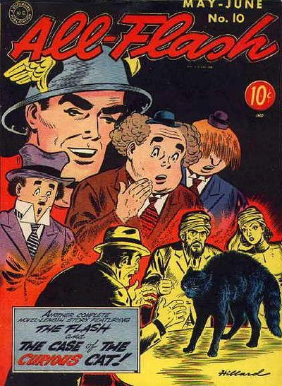 Cover for All-Flash (DC, 1941 series) #10
