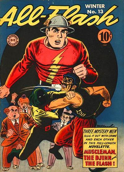 Cover for All-Flash (DC, 1941 series) #13