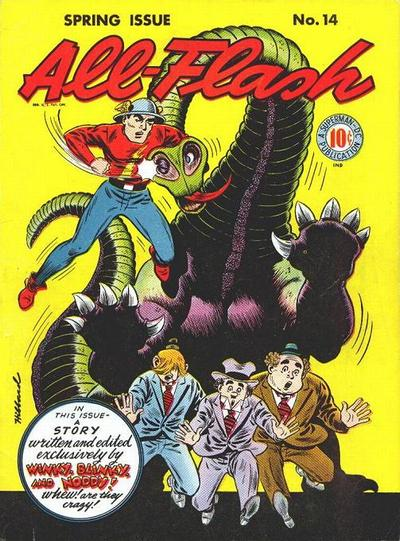 Cover for All-Flash (DC, 1941 series) #14