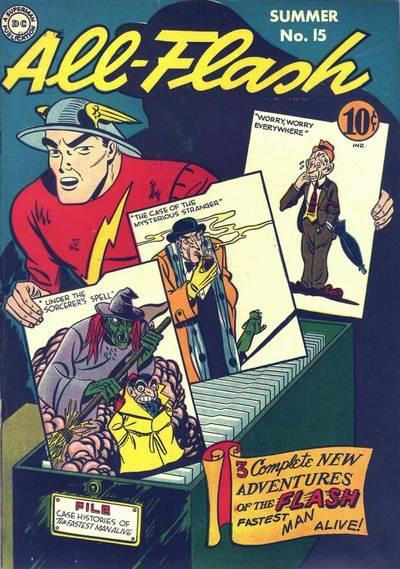 Cover for All-Flash (DC, 1941 series) #15