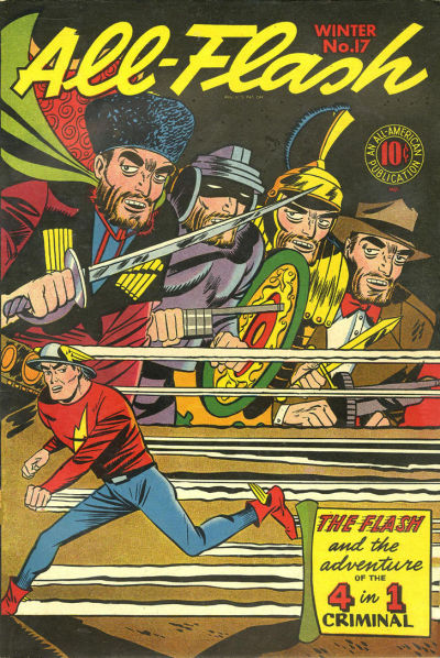 Cover for All-Flash (DC, 1941 series) #17