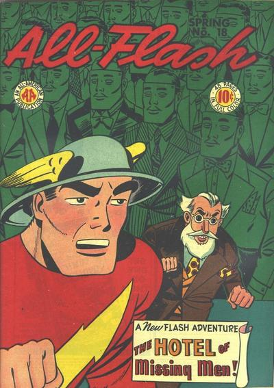 Cover for All-Flash (DC, 1941 series) #18