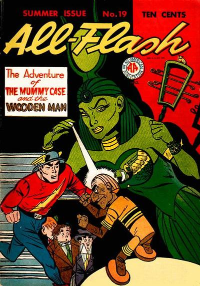 Cover for All-Flash (DC, 1941 series) #19
