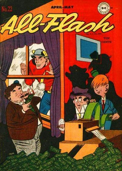 Cover for All-Flash (DC, 1941 series) #22