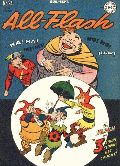 Cover for All-Flash (DC, 1941 series) #24