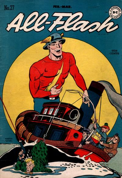 Cover for All-Flash (DC, 1941 series) #27