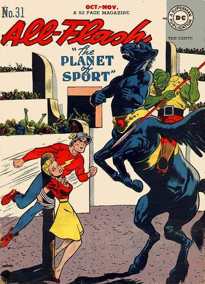 Cover for All-Flash (DC, 1941 series) #31