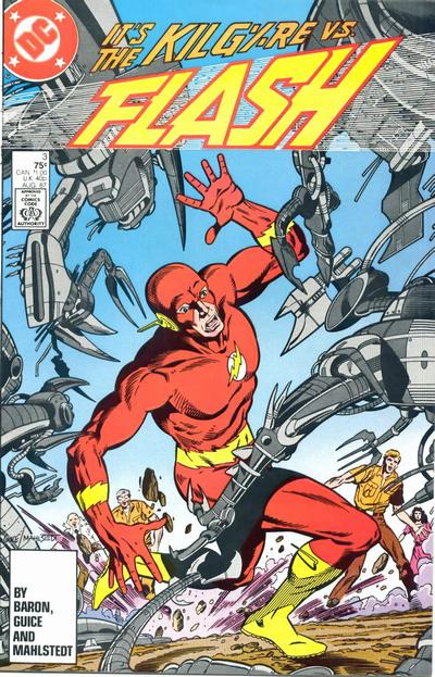 Cover for Flash (DC, 1987 series) #3 [Direct Edition]