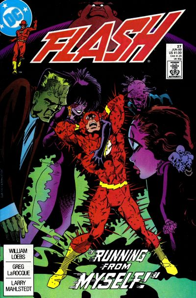 Cover for Flash (DC, 1987 series) #27