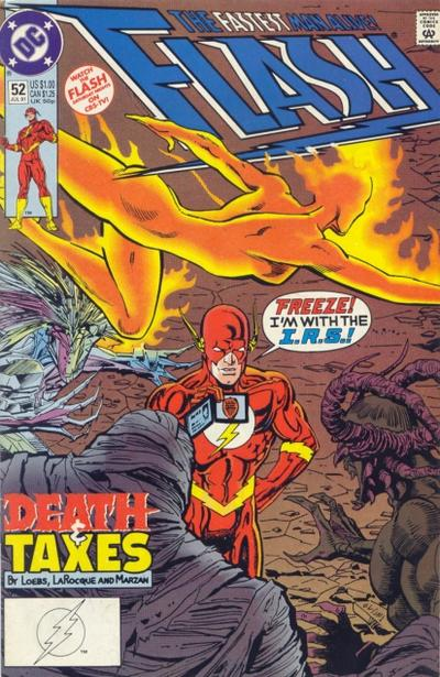 Cover for Flash (DC, 1987 series) #52