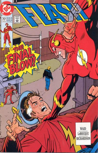 Cover for Flash (DC, 1987 series) #77 [Direct]