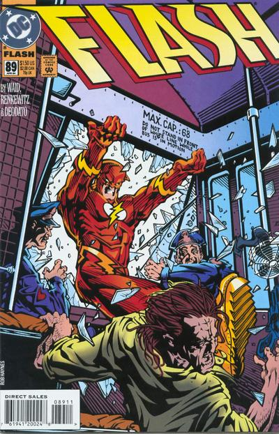 Cover for Flash (DC, 1987 series) #89 [Direct Edition]