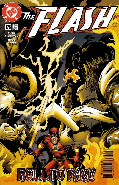 Cover for Flash (DC, 1987 series) #128