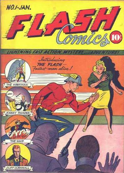 Cover for Flash Comics (DC, 1940 series) #1