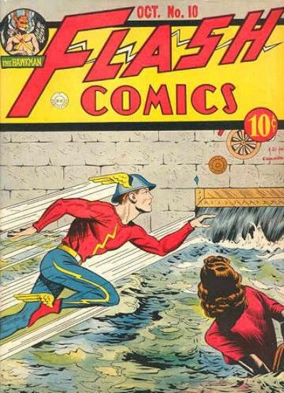 Cover for Flash Comics (DC, 1940 series) #10
