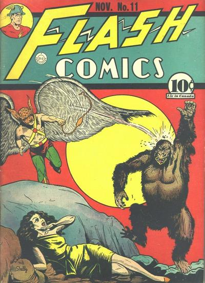 Cover for Flash Comics (DC, 1940 series) #11