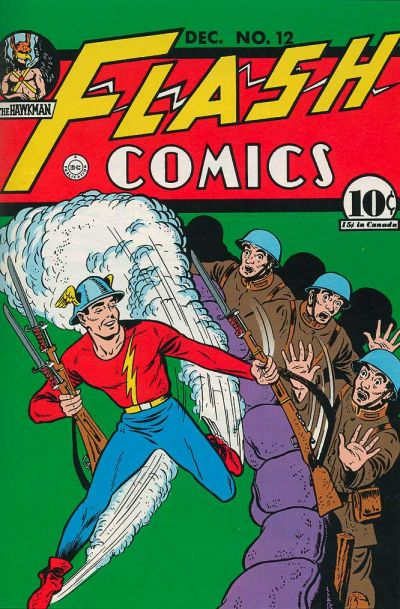 Cover for Flash Comics (DC, 1940 series) #12