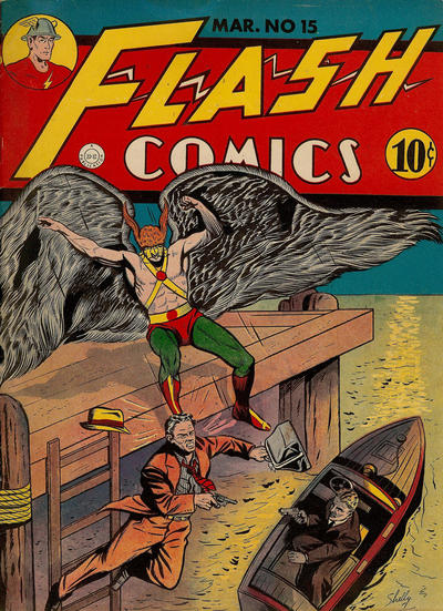 Cover for Flash Comics (DC, 1940 series) #15