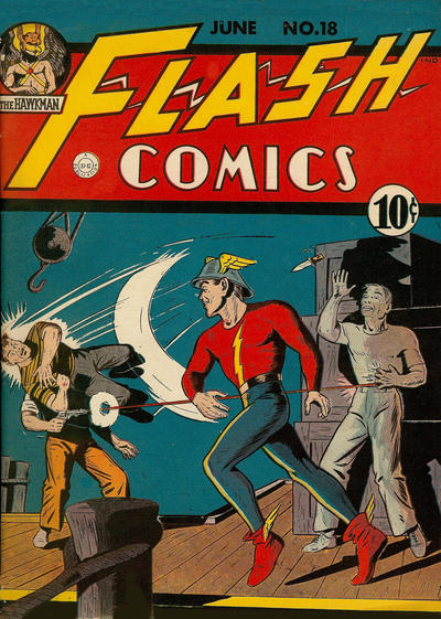 Cover for Flash Comics (DC, 1940 series) #18