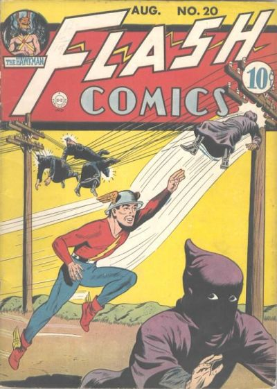 Cover for Flash Comics (DC, 1940 series) #20