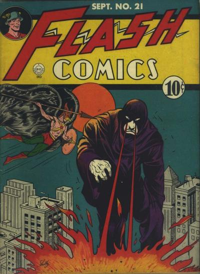 Cover for Flash Comics (DC, 1940 series) #21