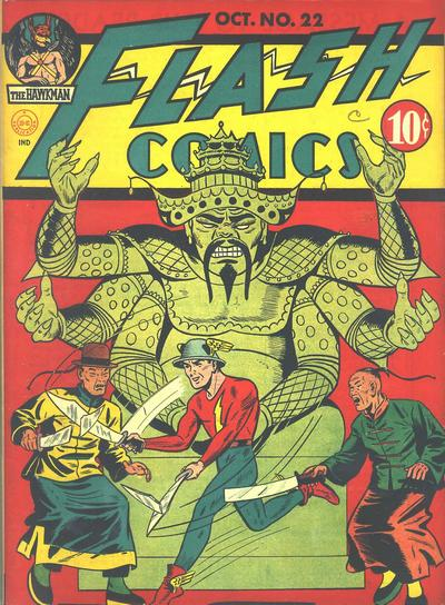 Cover for Flash Comics (DC, 1940 series) #22