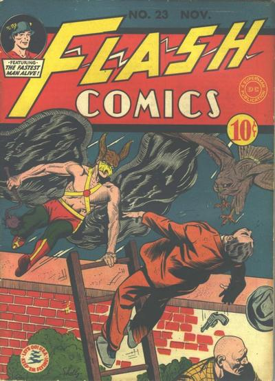 Cover for Flash Comics (DC, 1940 series) #23