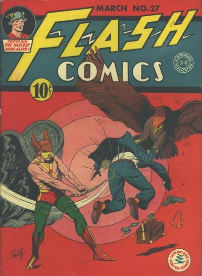 Cover for Flash Comics (DC, 1940 series) #27