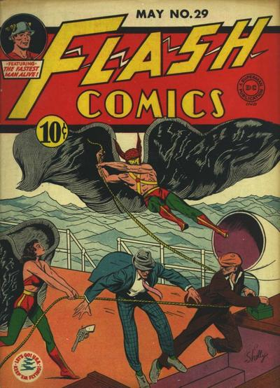Cover for Flash Comics (DC, 1940 series) #29