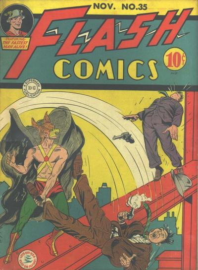 Cover for Flash Comics (DC, 1940 series) #35