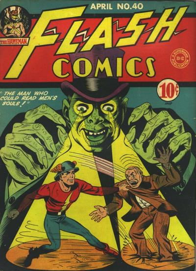 Cover for Flash Comics (DC, 1940 series) #40