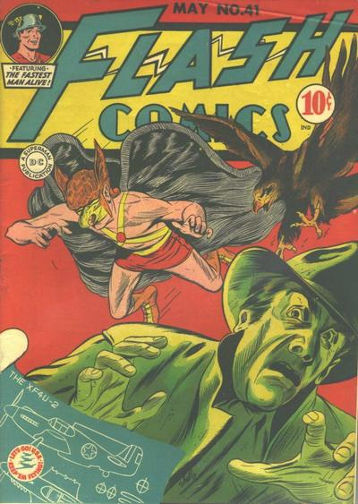 Cover for Flash Comics (DC, 1940 series) #41