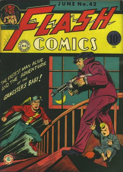 Cover for Flash Comics (DC, 1940 series) #42