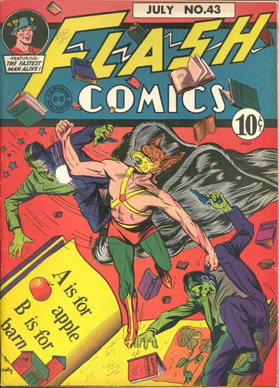 Cover for Flash Comics (DC, 1940 series) #43
