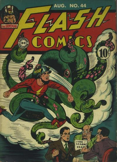 Cover for Flash Comics (DC, 1940 series) #44