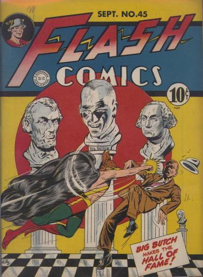 Cover for Flash Comics (DC, 1940 series) #45
