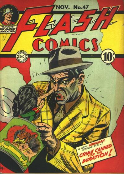 Cover for Flash Comics (DC, 1940 series) #47