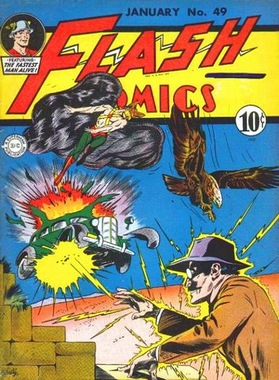 Cover for Flash Comics (DC, 1940 series) #49