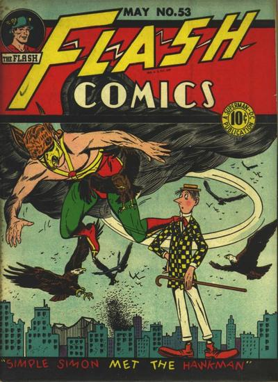 Cover for Flash Comics (DC, 1940 series) #53