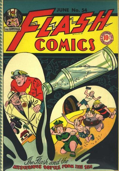 Cover for Flash Comics (DC, 1940 series) #54