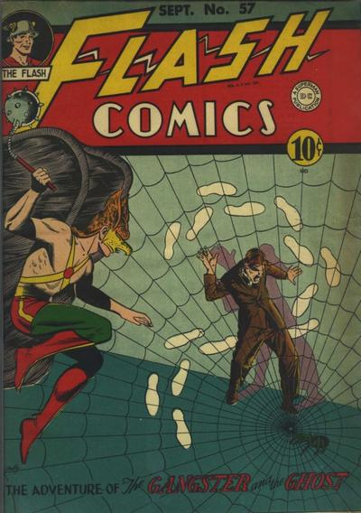 Cover for Flash Comics (DC, 1940 series) #57