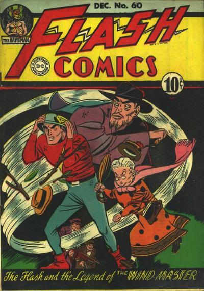 Cover for Flash Comics (DC, 1940 series) #60